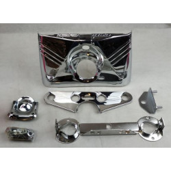 Coppia Marmitte Khrome Werks Tapered per Harley Davidson Softail dal '00 al '06