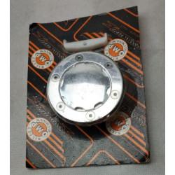Coppia Specchietti ovali FAR con asta reclinabile e calotta in ferro per Vespa
