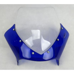 Cupolino trasparente e blu...