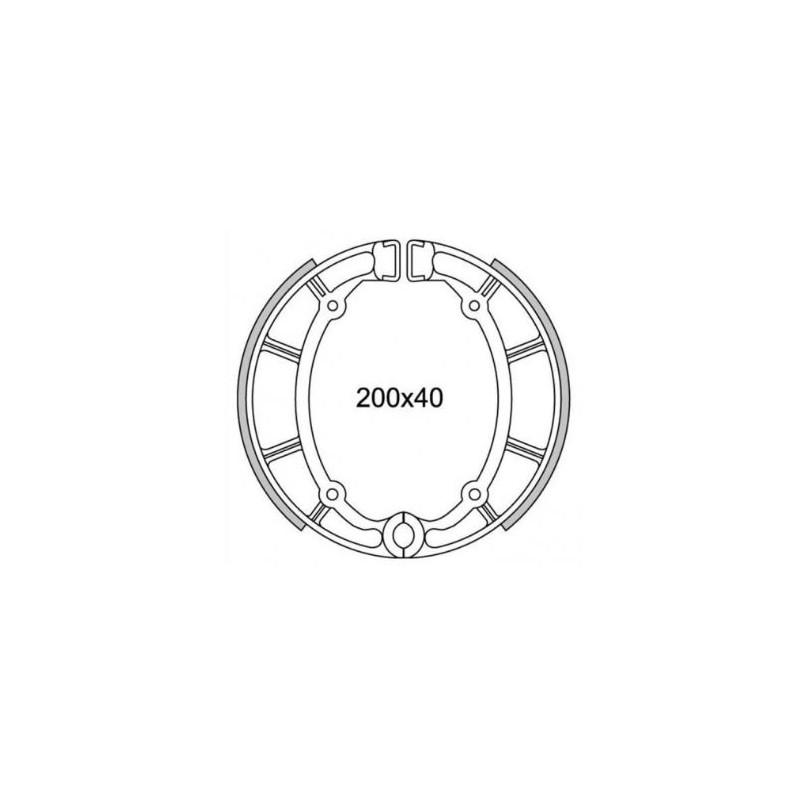 Kit Leve Freno Frizione BARRACUDA YF6127 per Yamaha