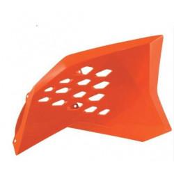 Copri radiatore arancione...