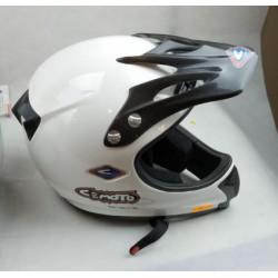 Casco da motocross in fibra...