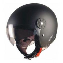 Casco moto jet in fibra...