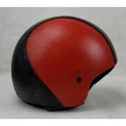 Casco moto jet nero e rosso...