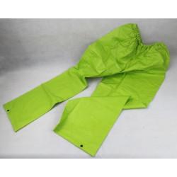 Pantaloni antipioggia verde...