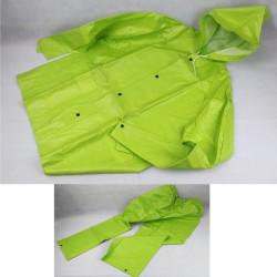 Tuta antipioggia verde fluo...