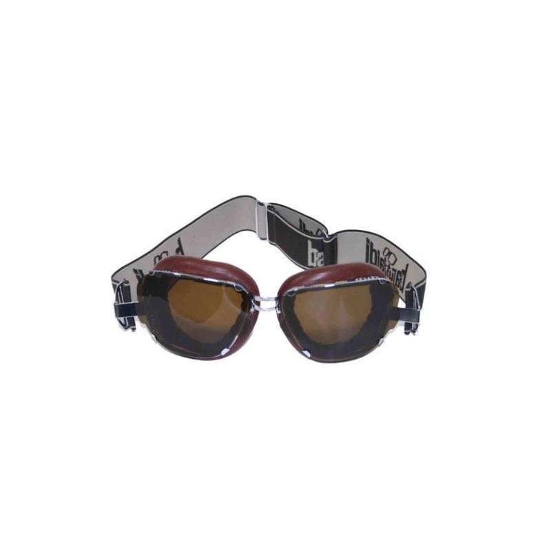 Marrone//Rame colori Jet Casco Occhiali Moto F